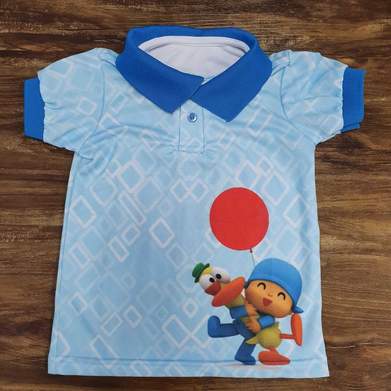 Camisa Polo Pocoyo Infantil