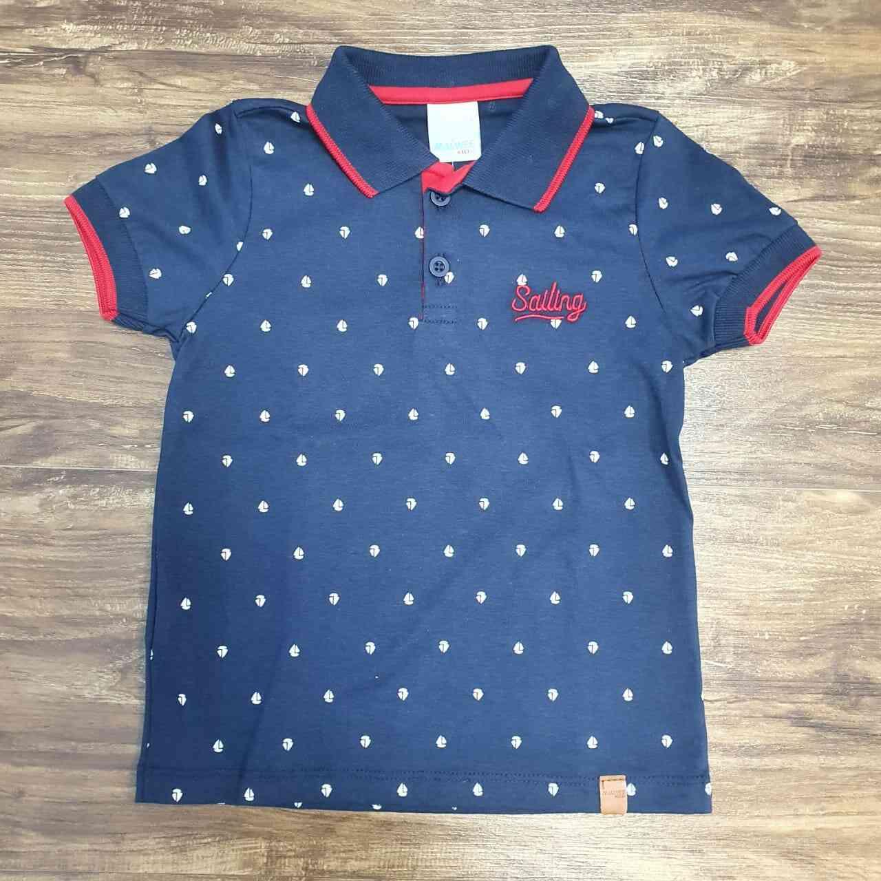 Camisa Polo Sailing Infantil