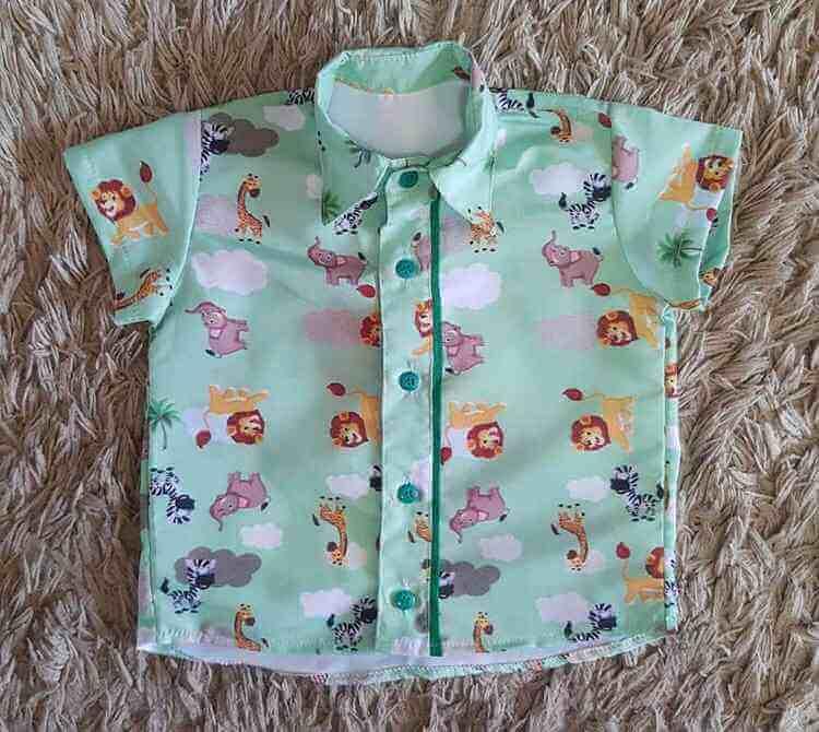 Camisa Rei Leão Infantil