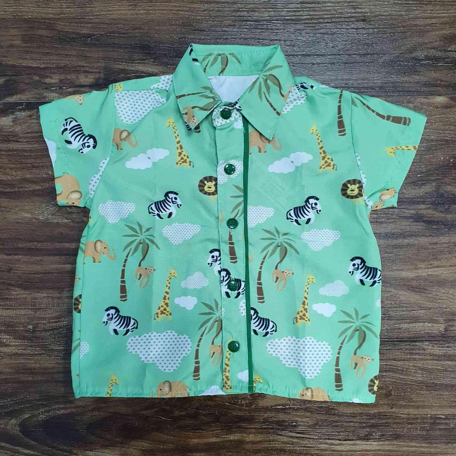 Camisa Safari Infantil