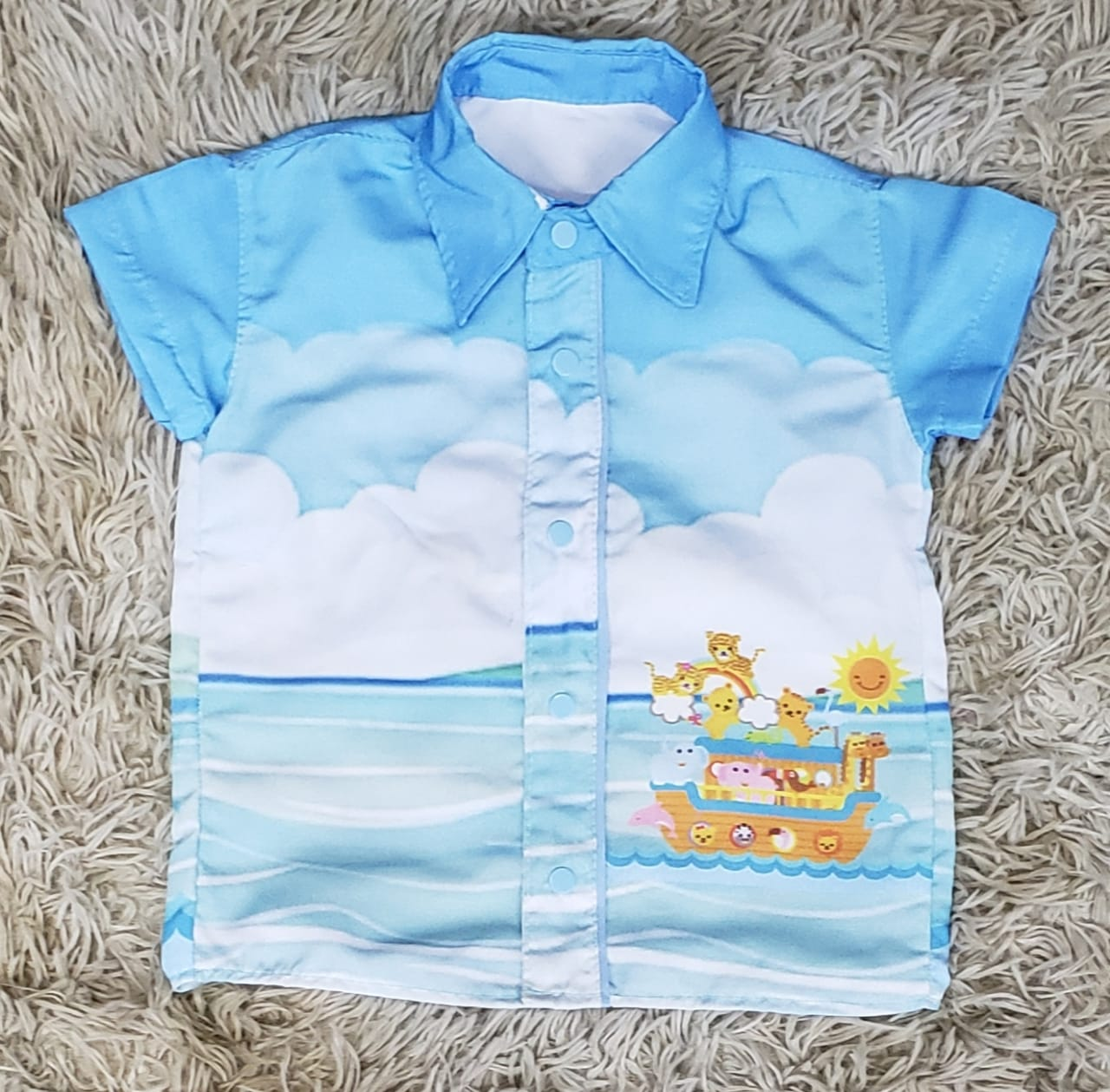 Camisa Social Arca de Noé