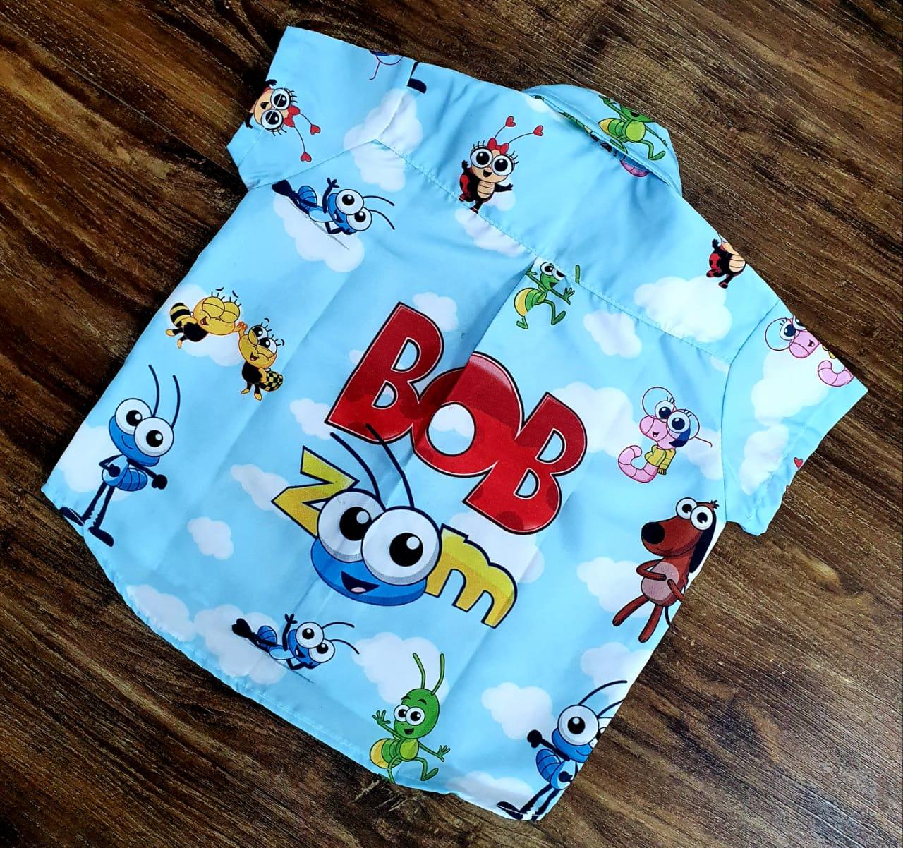 Camisa Social Bob Zoom