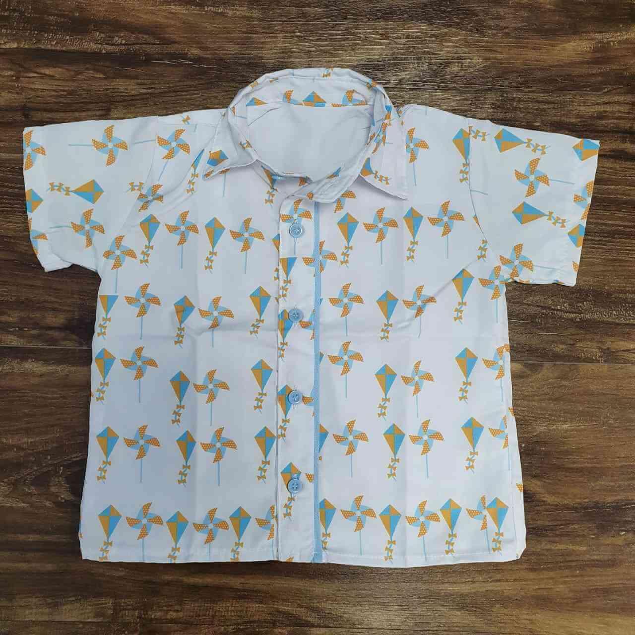 Camisa Social Brinquedos