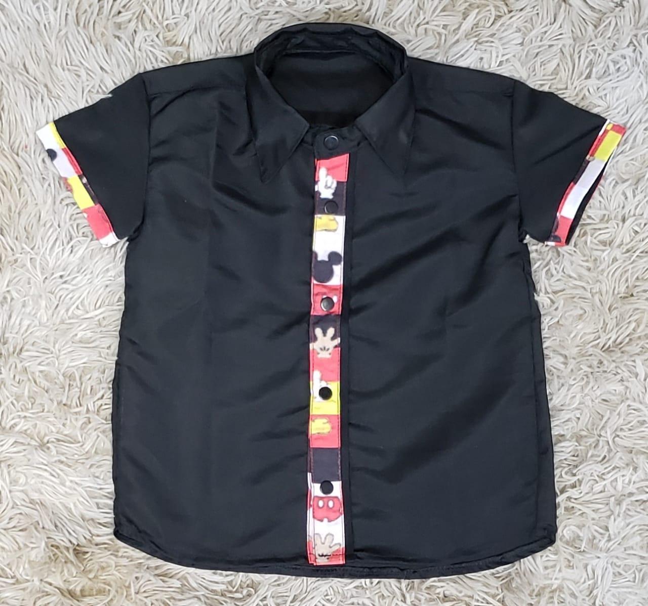 Camisa Social Mickey