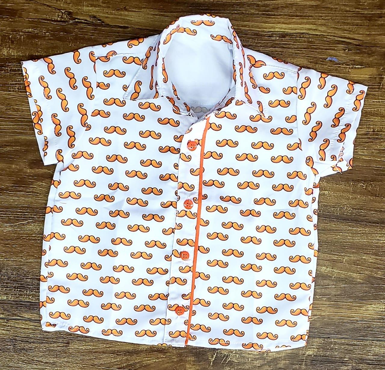 Camisa Mundo Bita Bigode Infantil