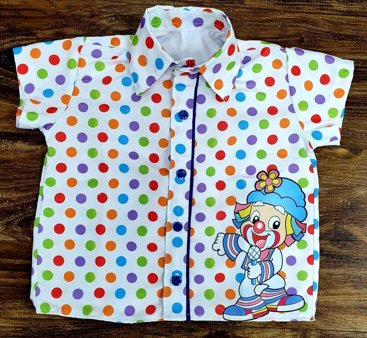 Camisa Social Patati Patatá Infantil
