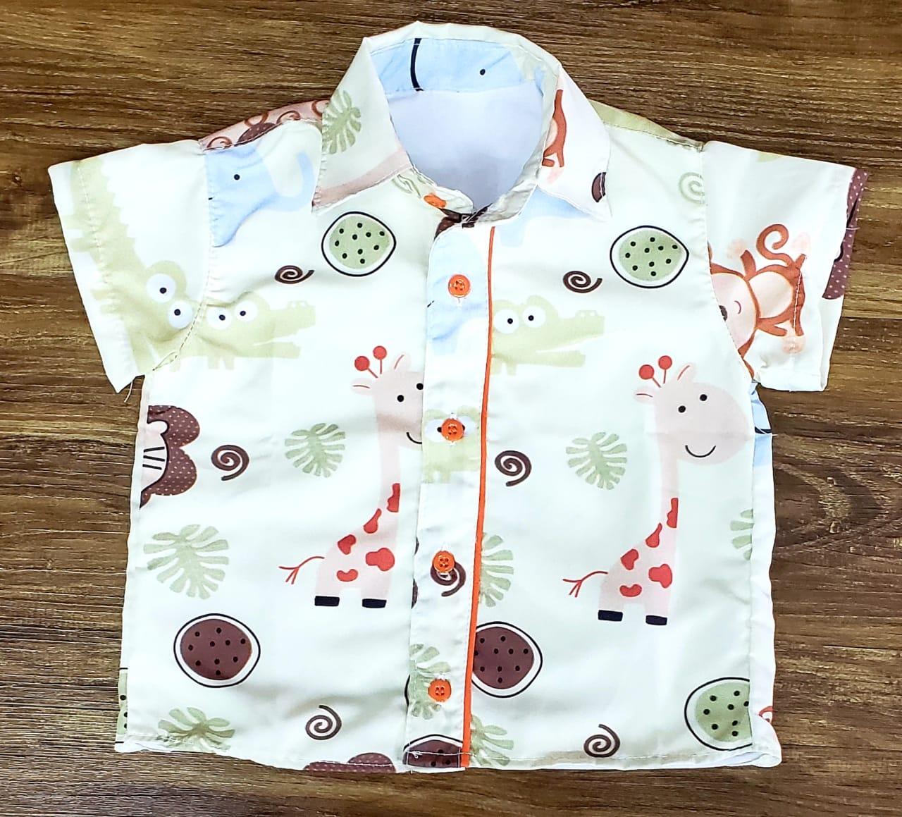Camisa Social Safari