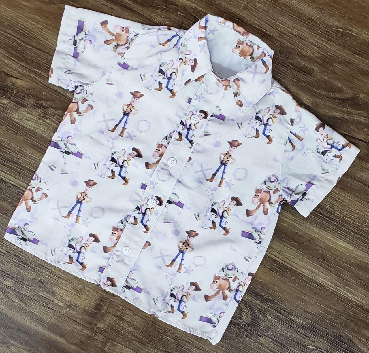 Camisa Toy Story Nude Infantil