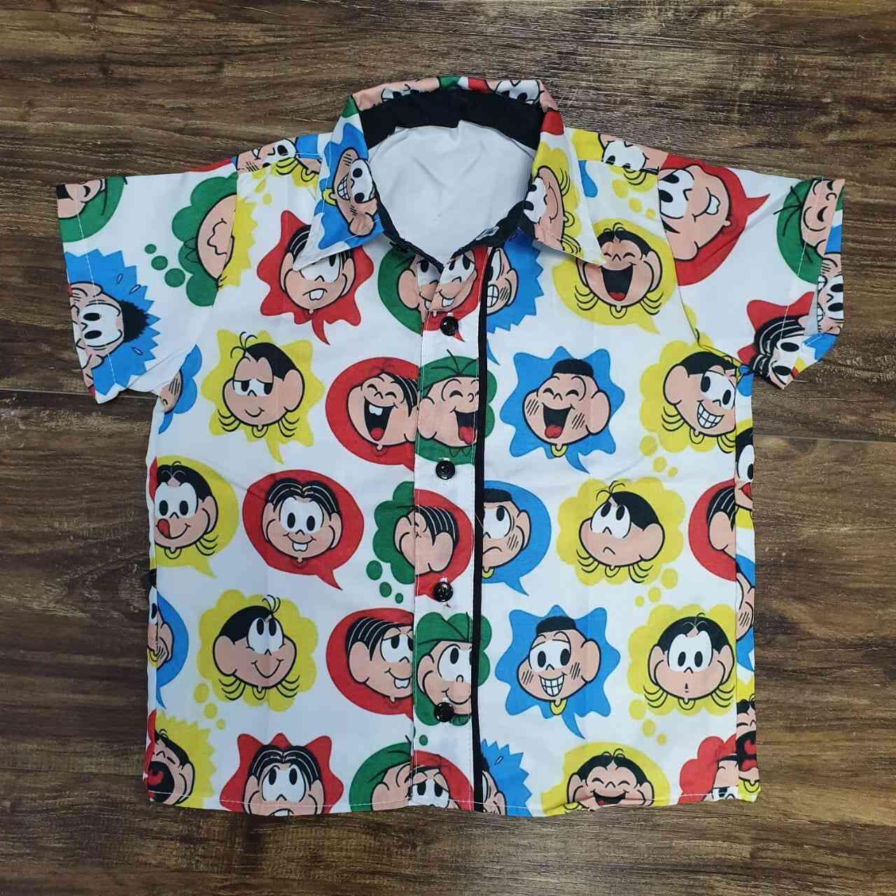 Camisa Social Turma da Mônica