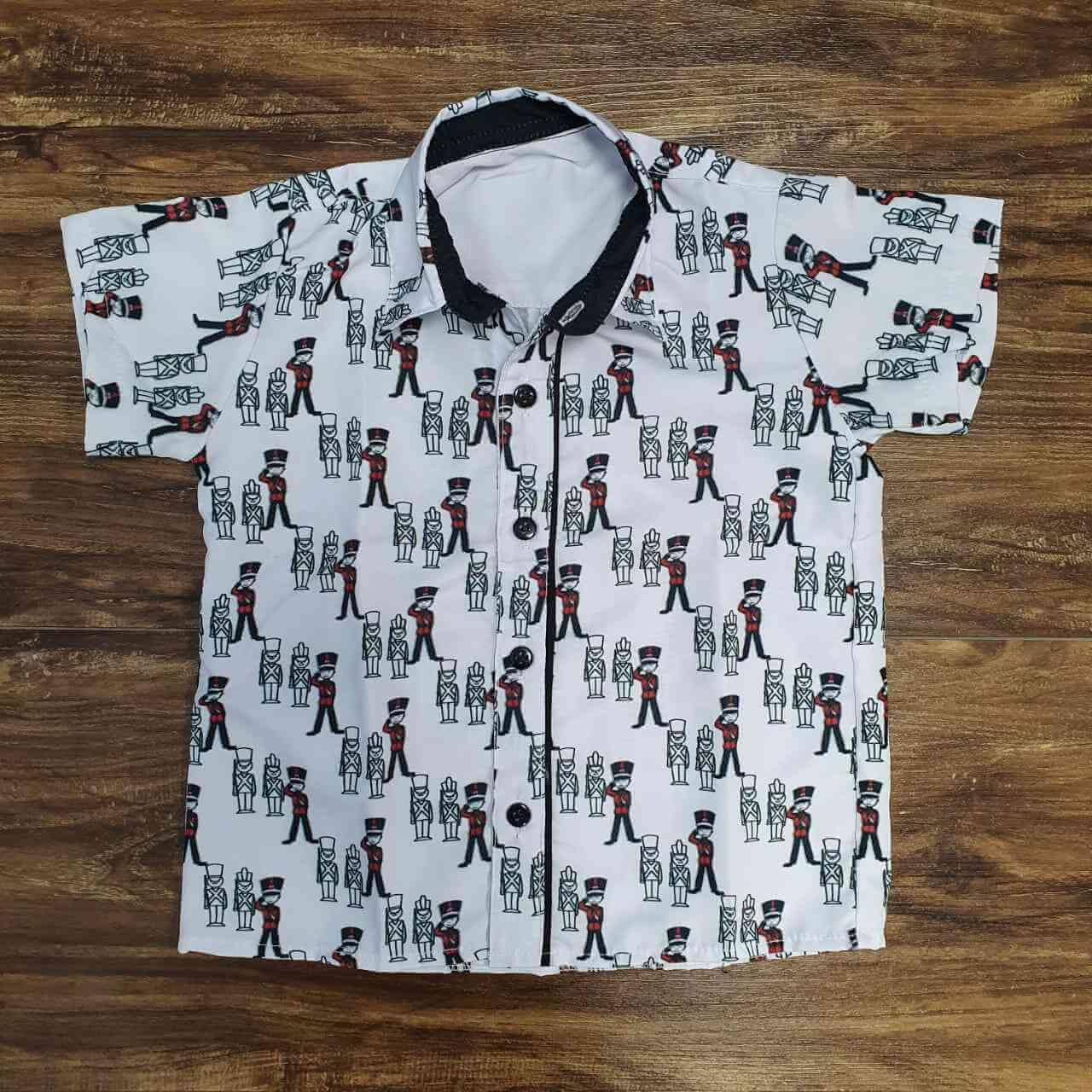 Camisa Soldadinho de Chumbo Infantil
