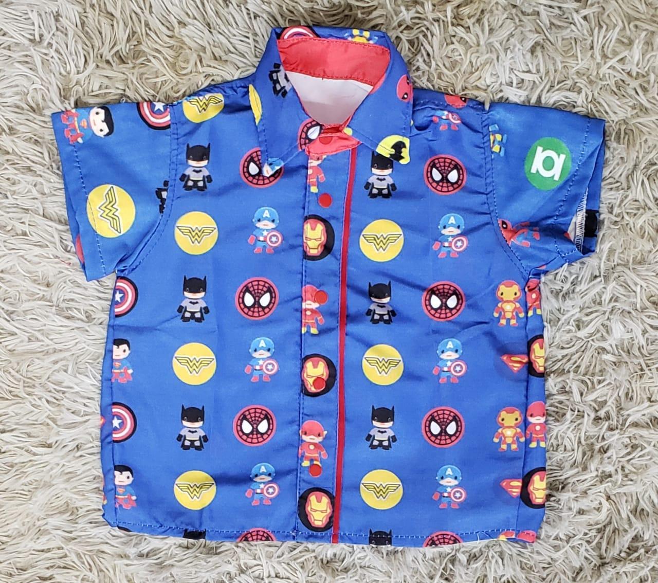 Camisa Super Heróis