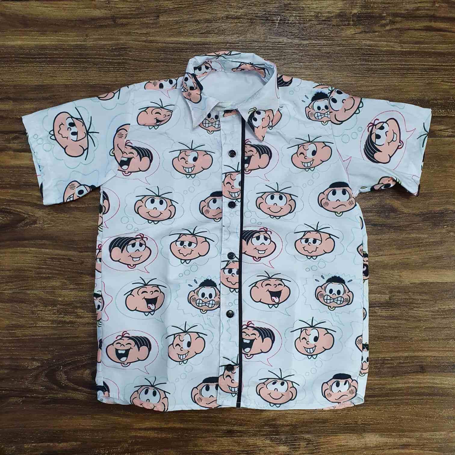 Camisa Turma da Mônica Infantil