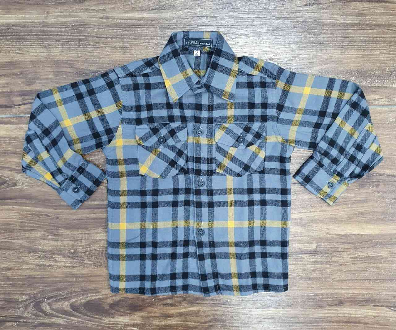 Camisa Xadrez Infantil