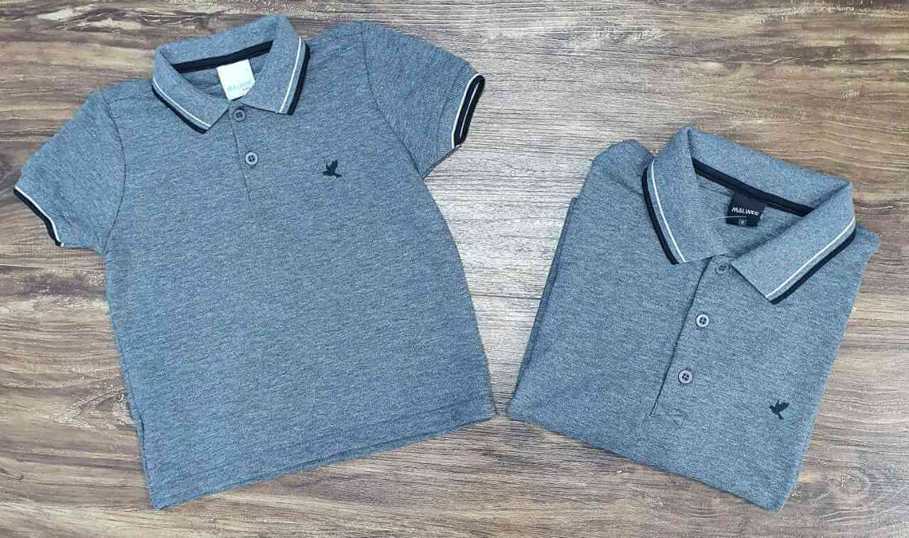 Camisas Polo Pai e Filho (a)
