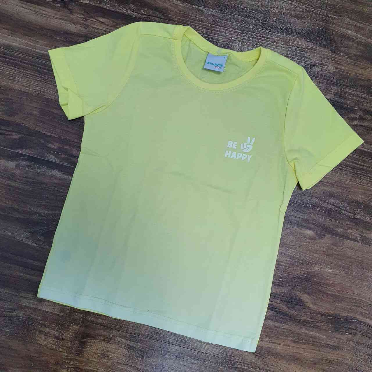 Camiseta Be Happy Infantil