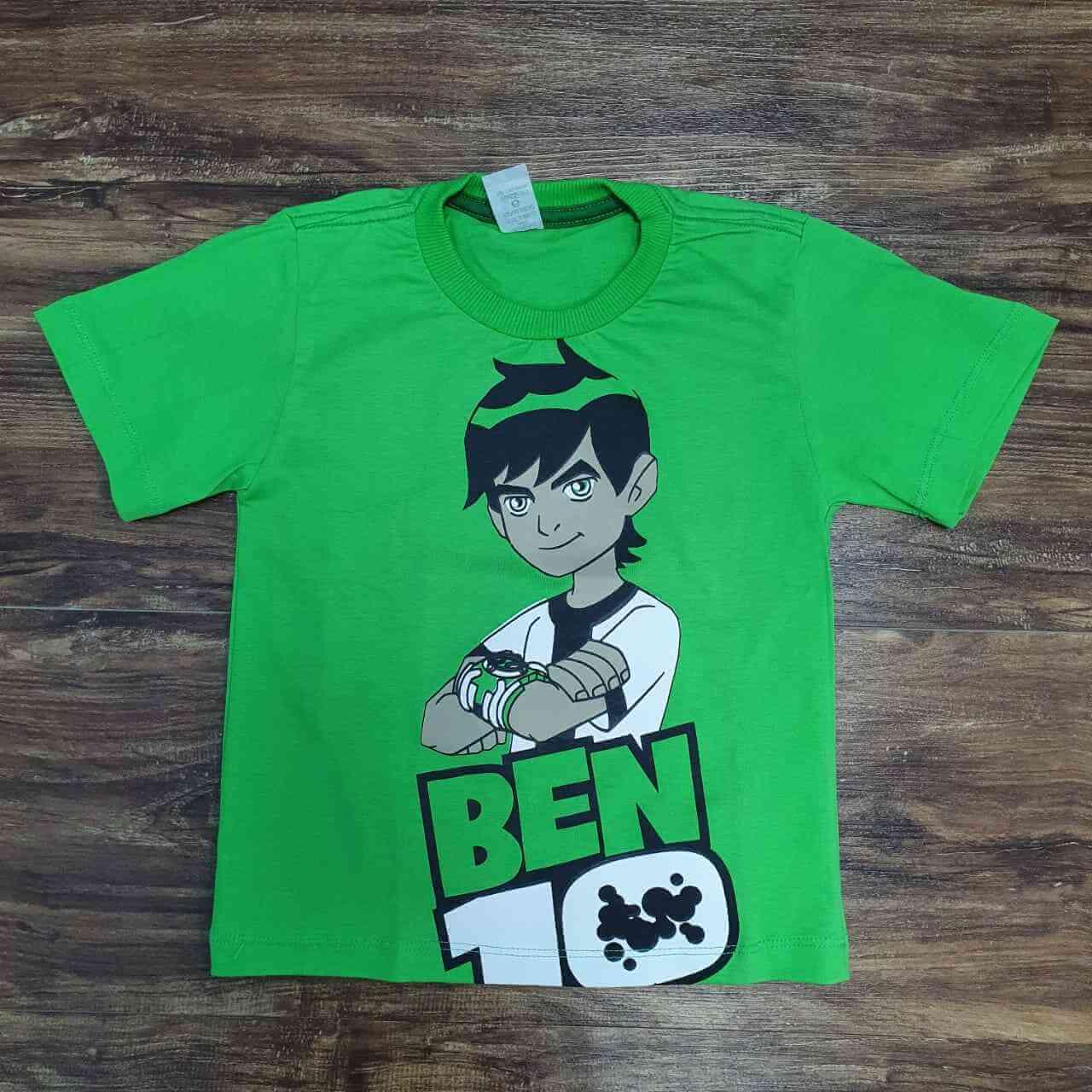 Camiseta BEN 10 Infantil
