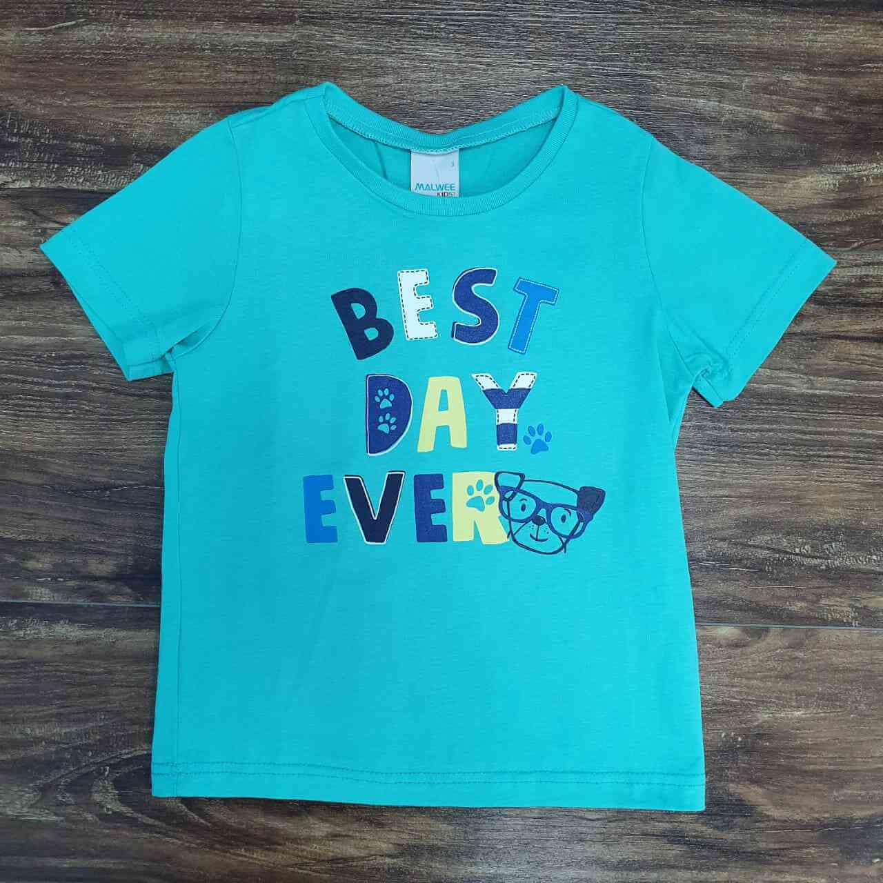Camiseta Best Day Infantil