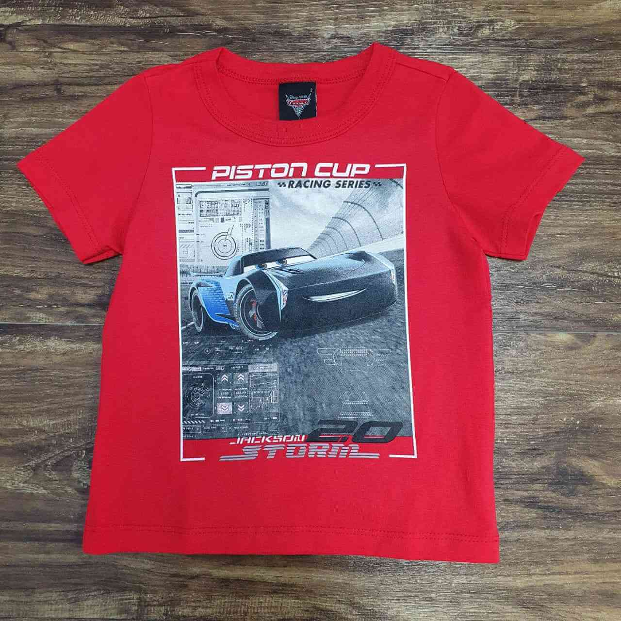 Camiseta Carros Infantil