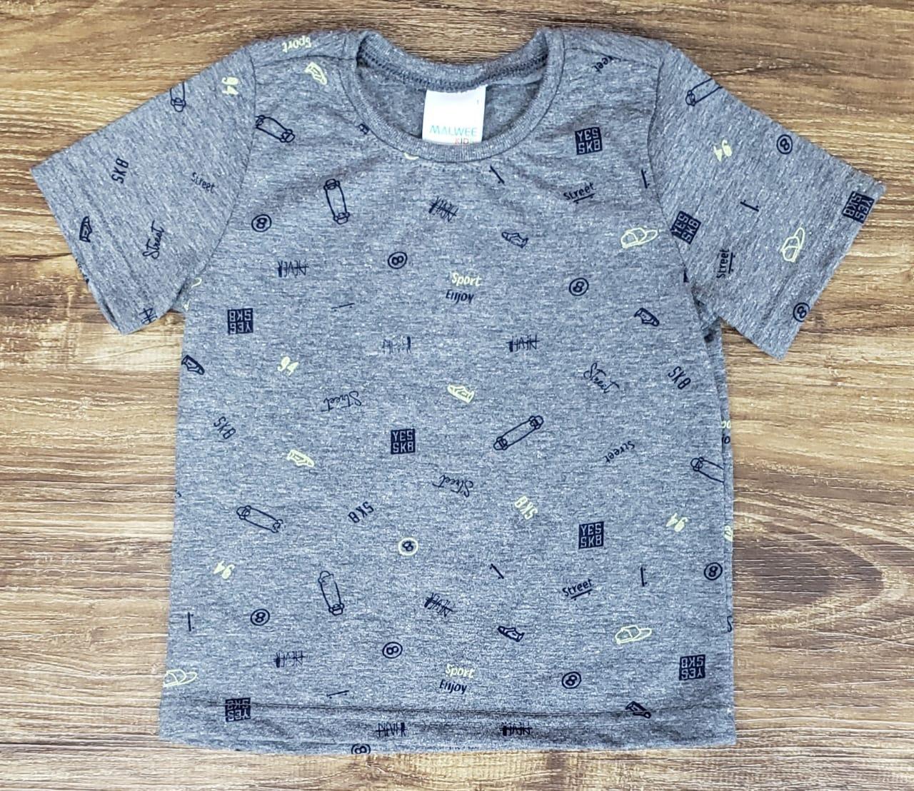 Camiseta Cinza SK8