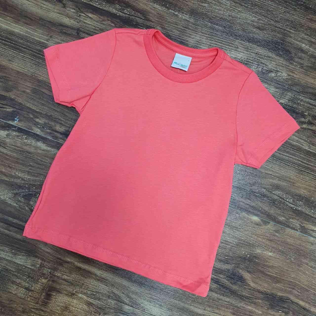 Camiseta Coral Infantil