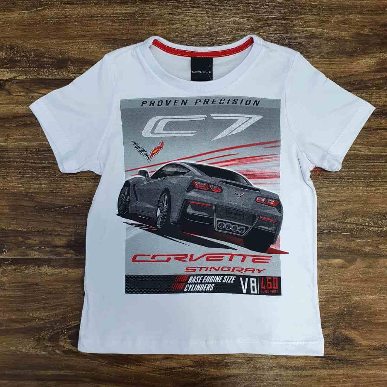Camiseta Corvette Infantil