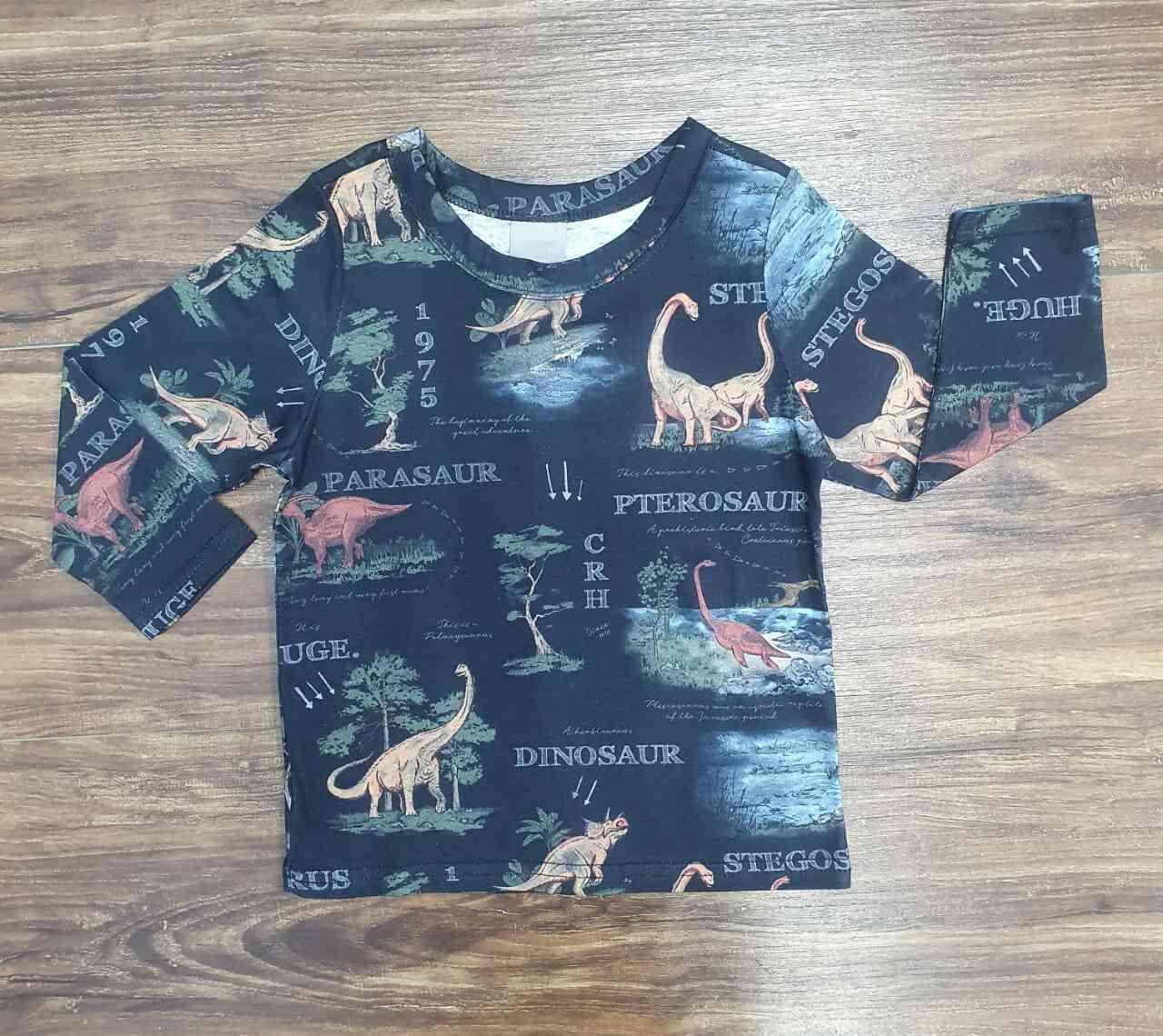 Camiseta Dinossauro Infantil