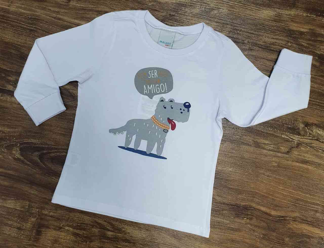 Camiseta Dog Friend infantil