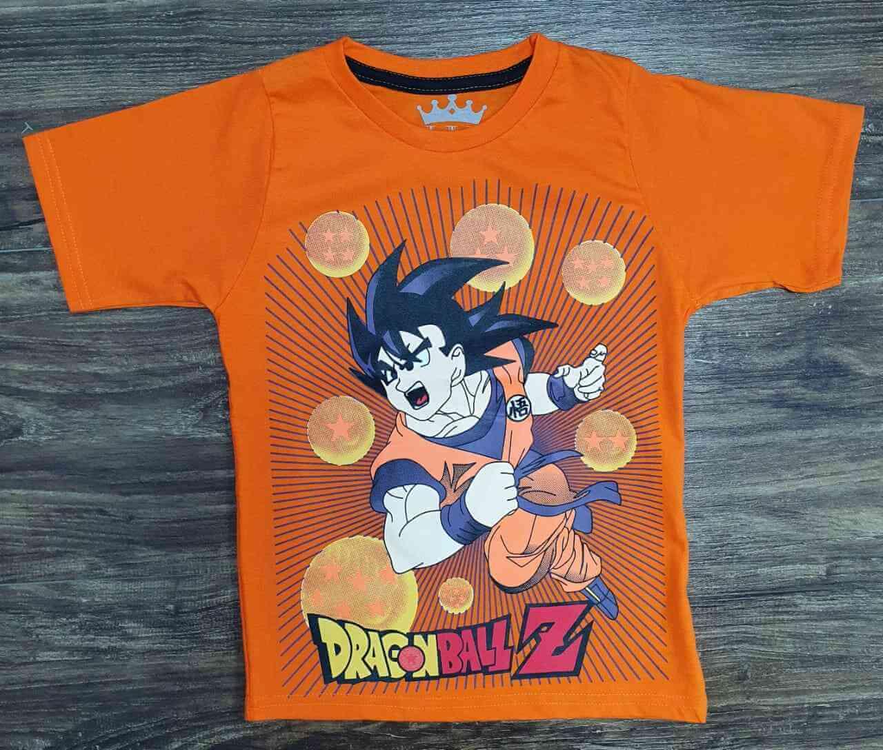 Camiseta Dragon Ball Z Infantil
