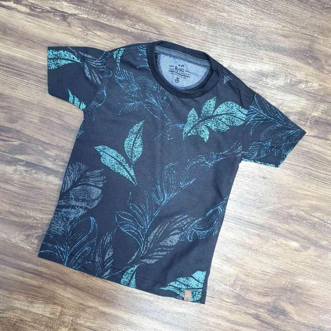 Camiseta Floral Infantil
