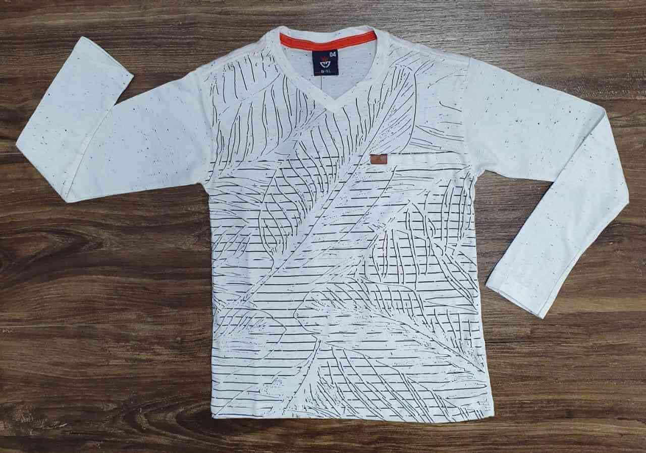 Camiseta Folhas Infantil