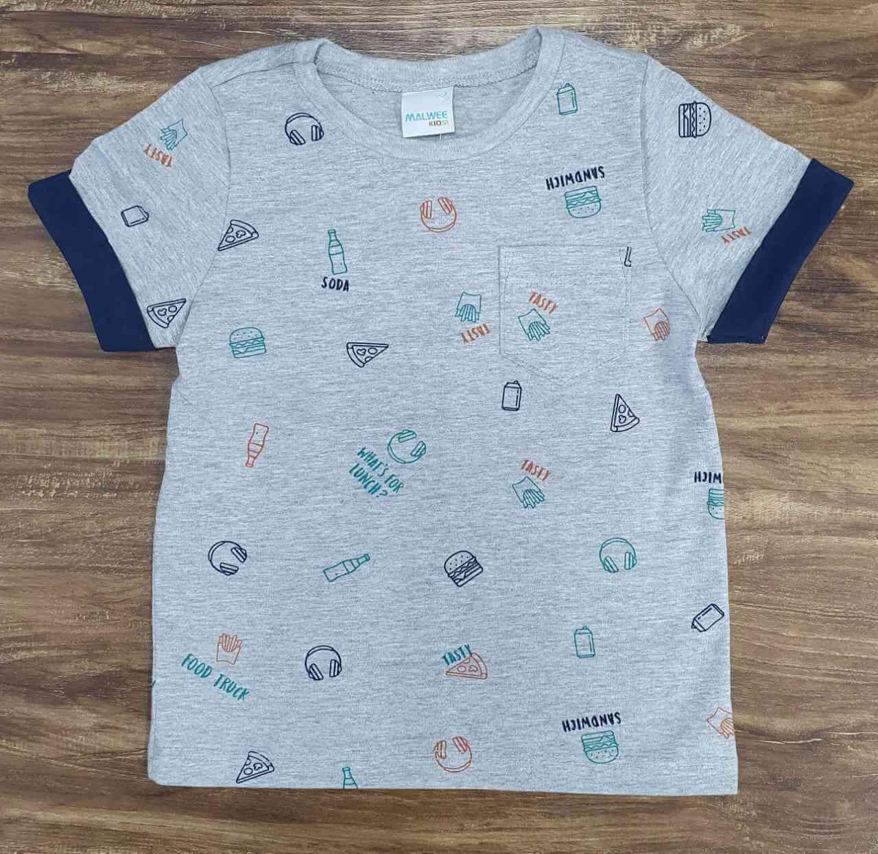 Camiseta Food Infantil