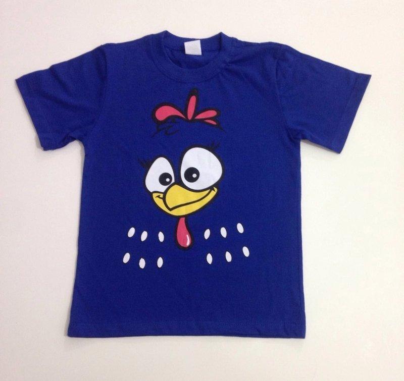 Camiseta Galinha Pintadinha
