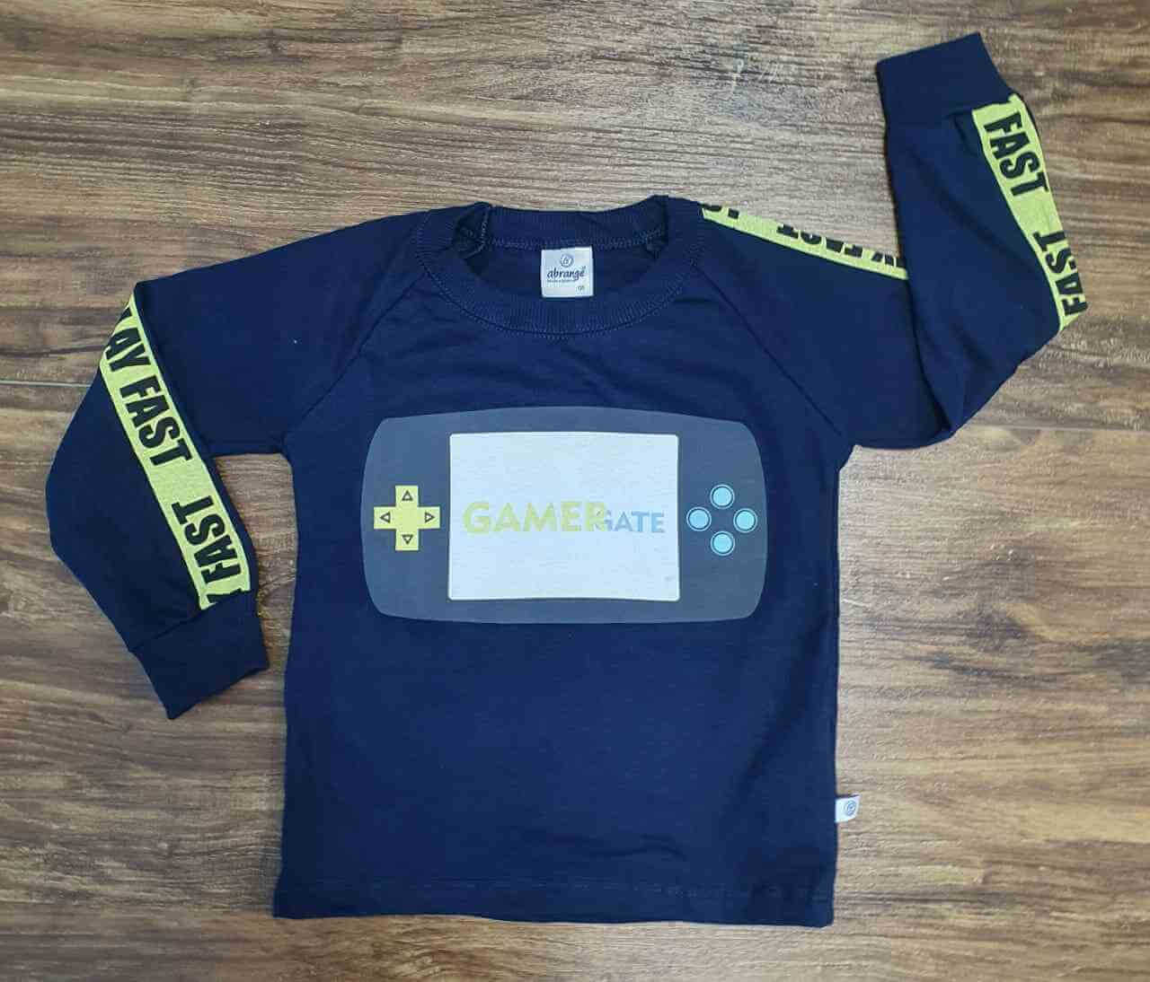 Camiseta Gamer Gate Infantil