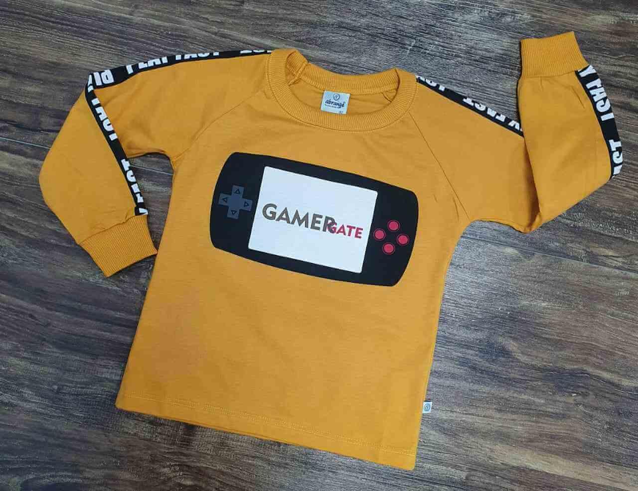 Camiseta Gamer Gate Infantil