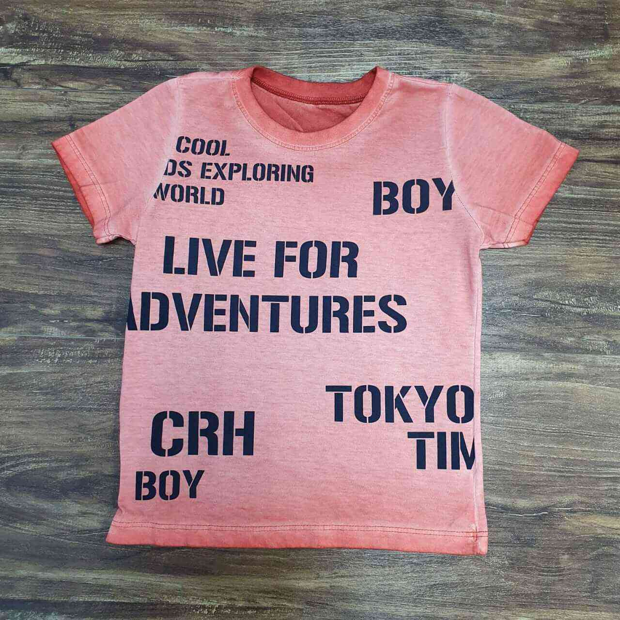 Camiseta Laranja Infantil