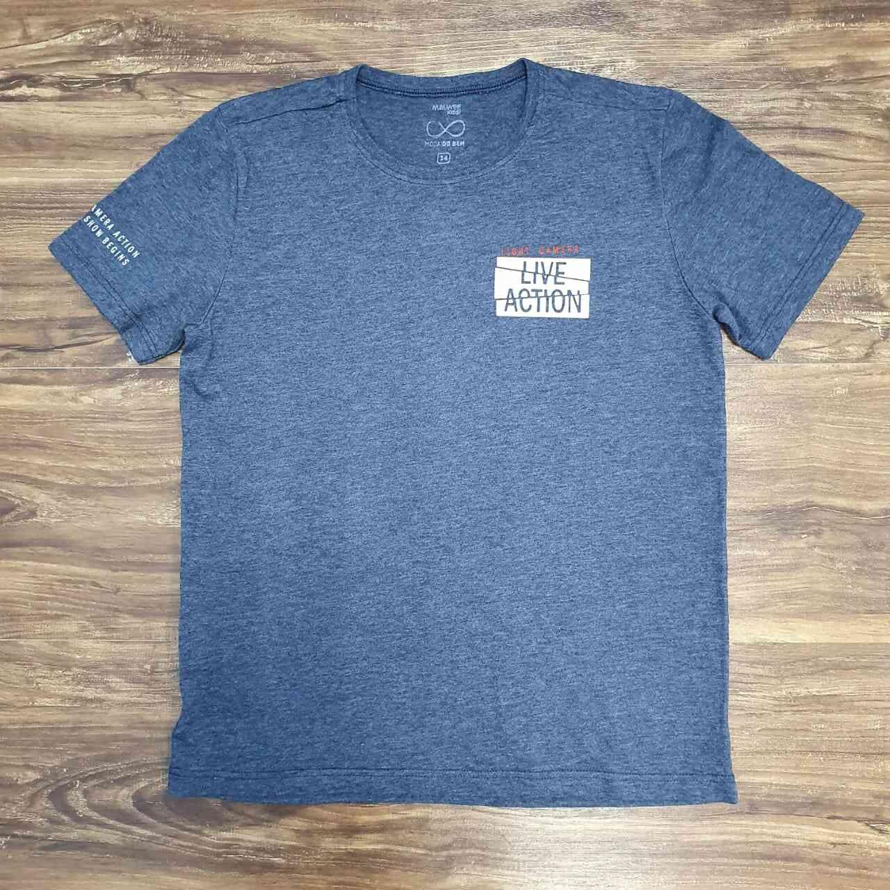 Camiseta Live Action Infantil