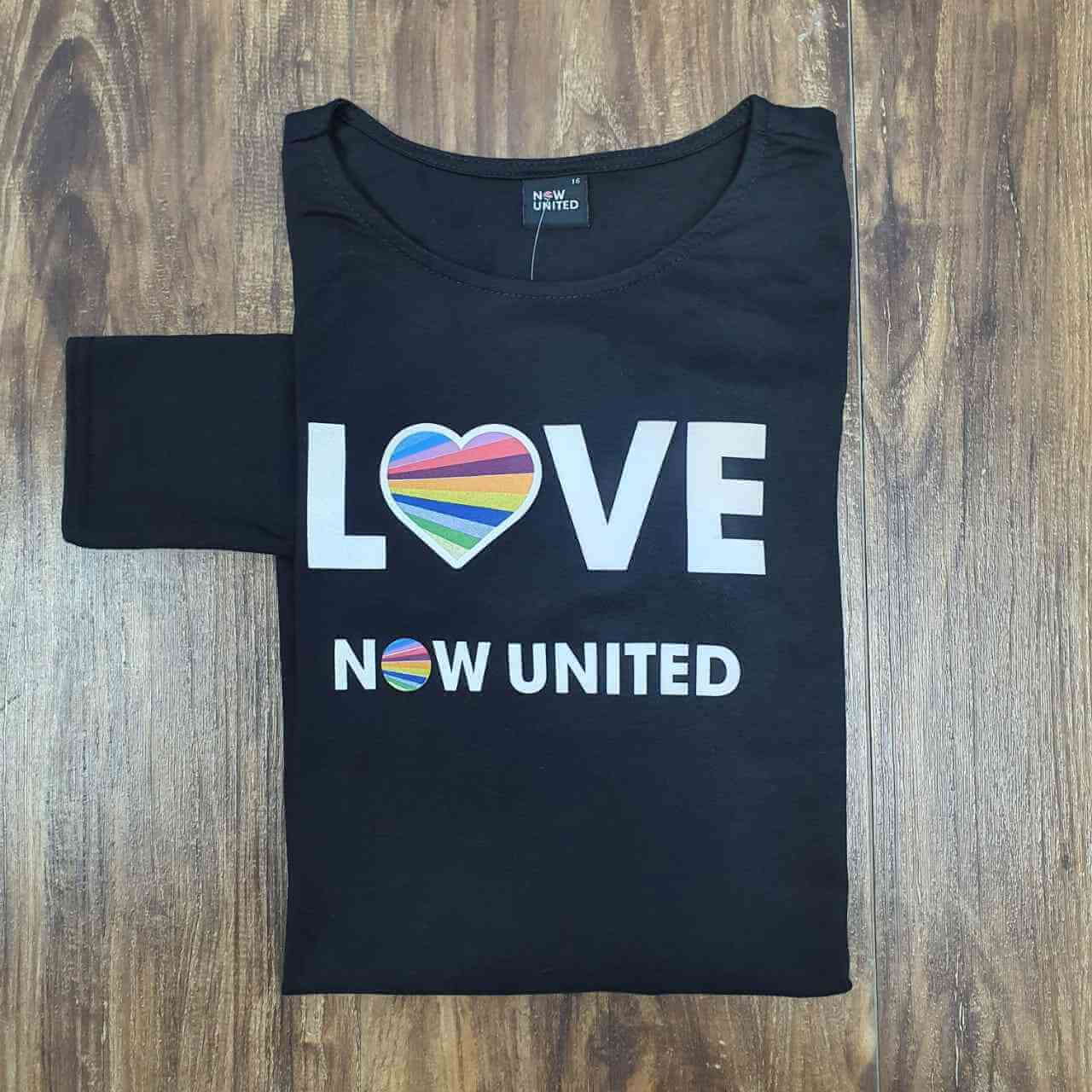 Camiseta Love Now United Infantil