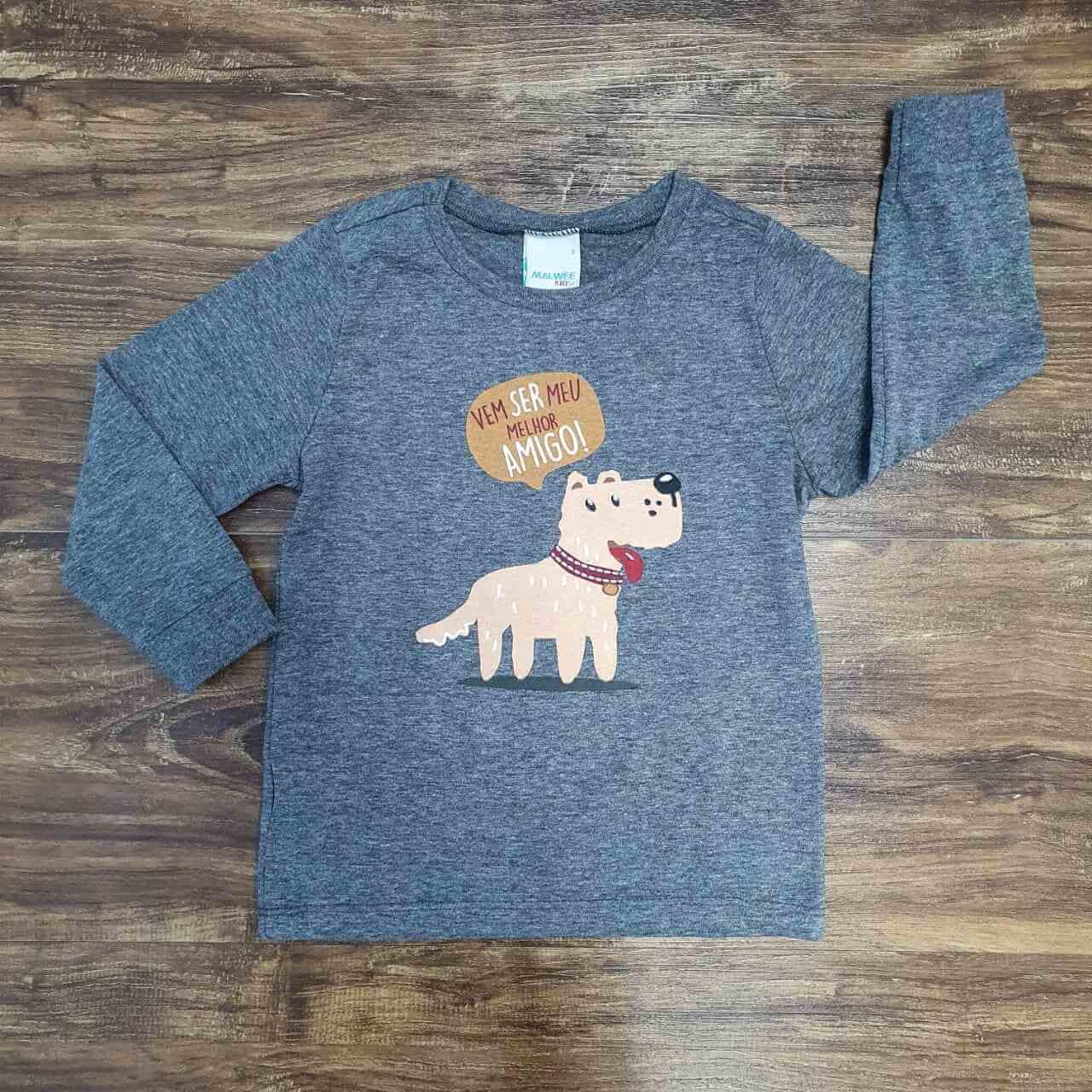 Camiseta Melhor Amigo Infantil