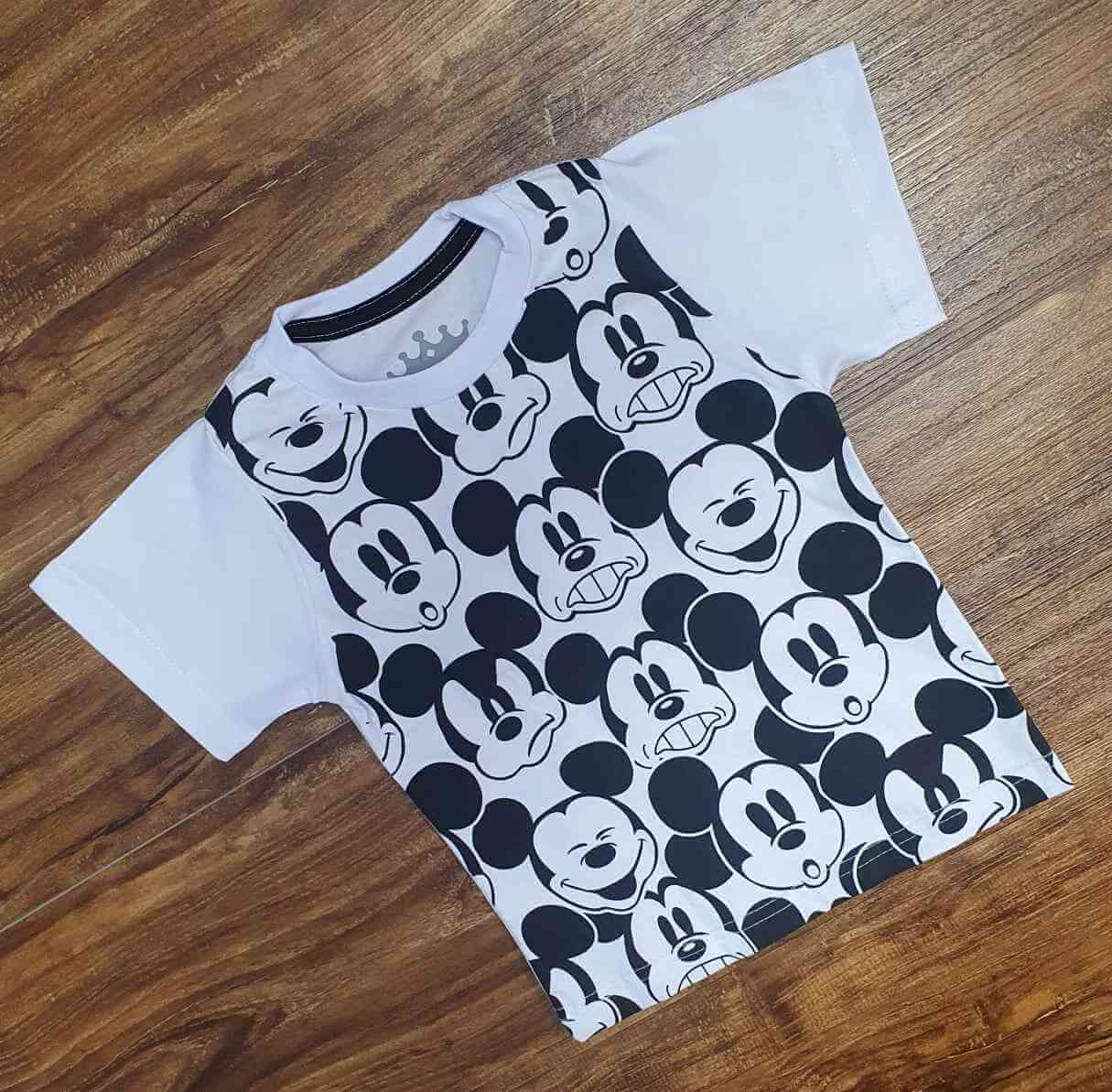 Camiseta Mickey Infantil