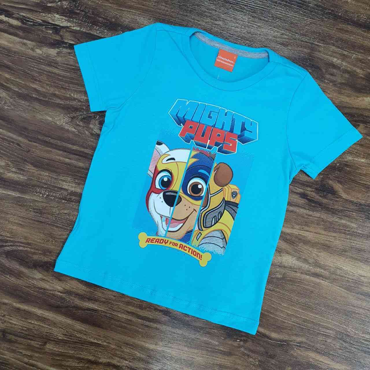 Camiseta Mights Pups Infantil