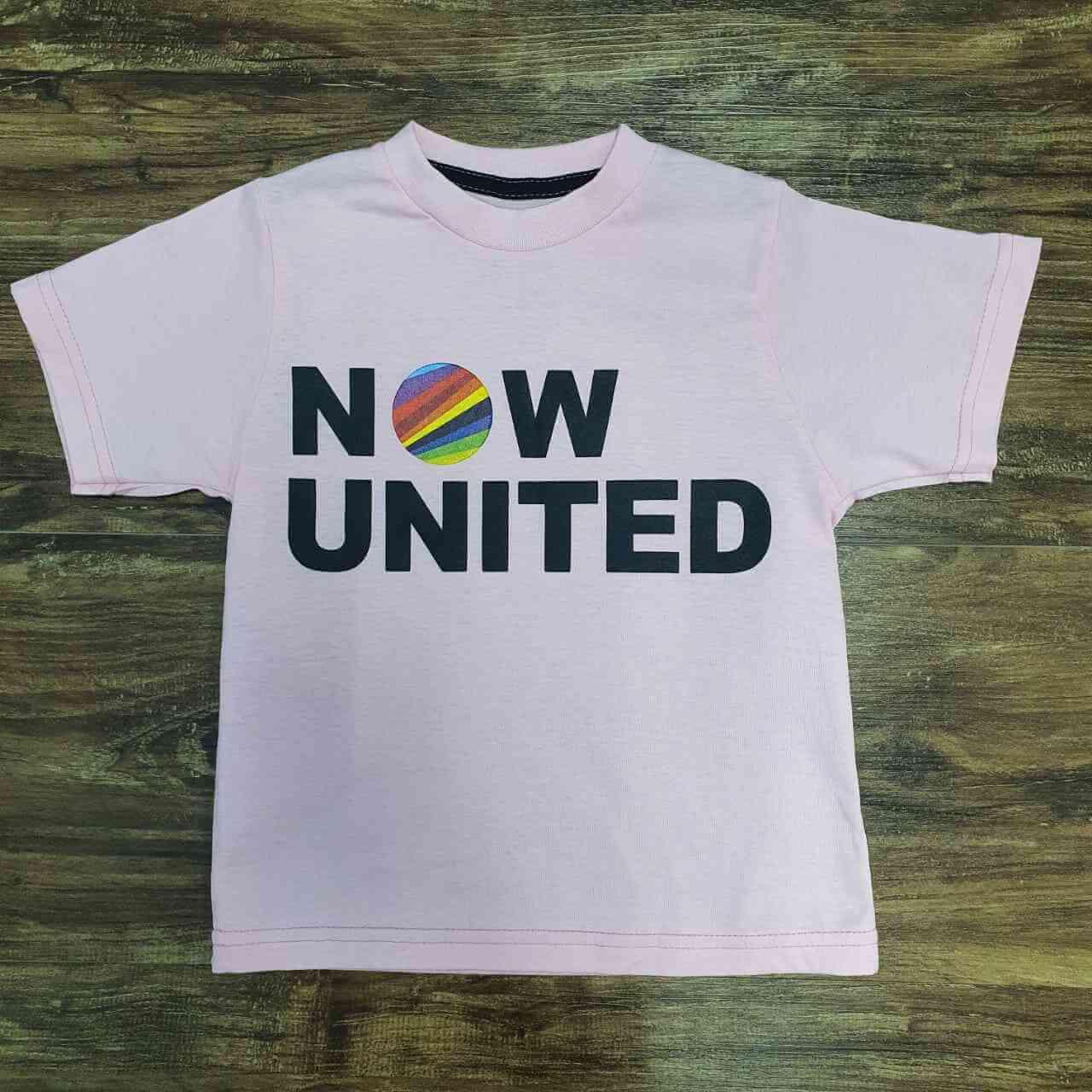 Camiseta Now United Infantil