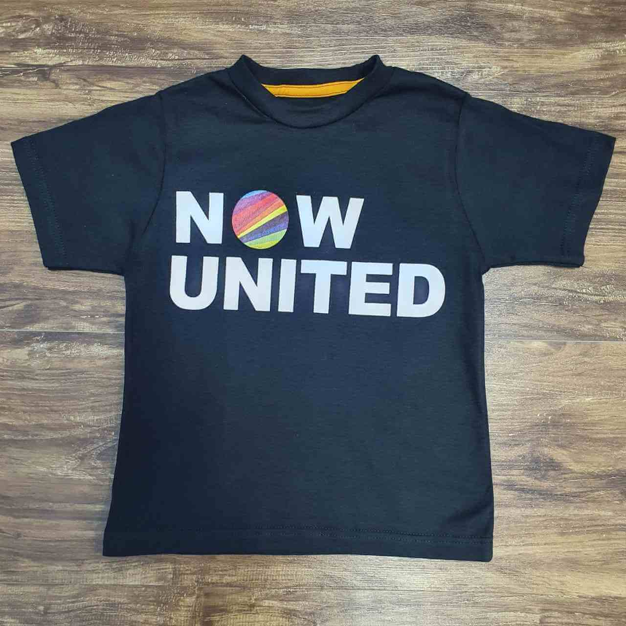 Camiseta Now United Infantil