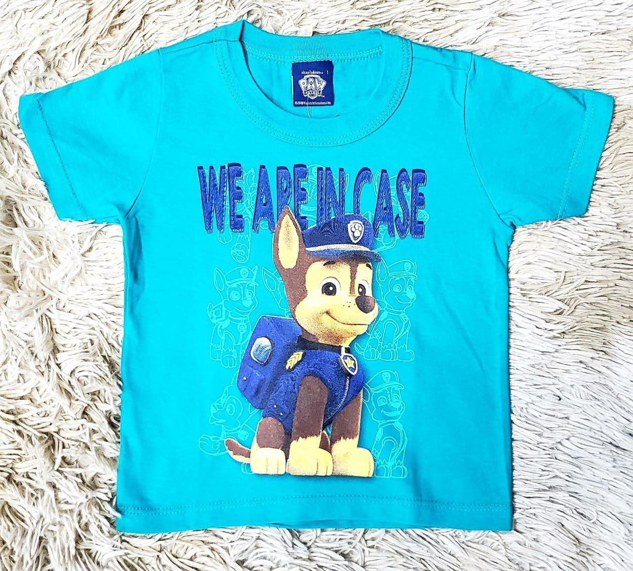 Camiseta Patrulha Canina
