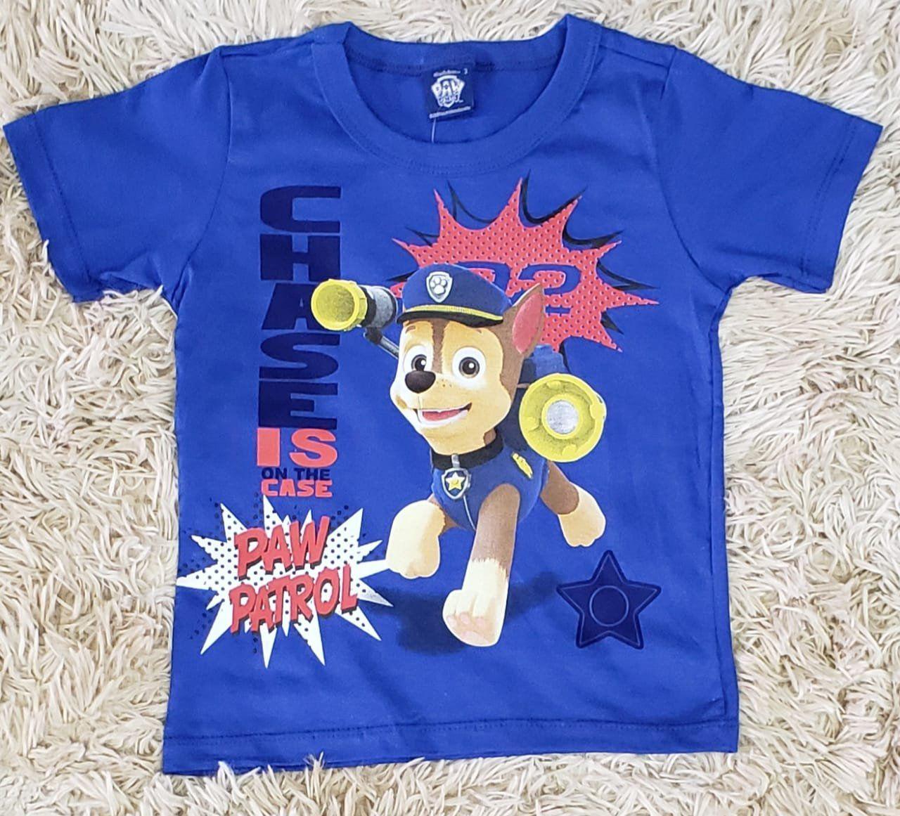Camiseta Patrulha Canina Azul