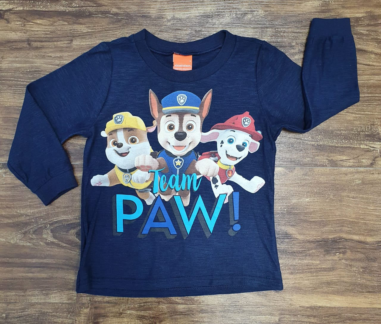 Camiseta Patrulha Canina Infantil