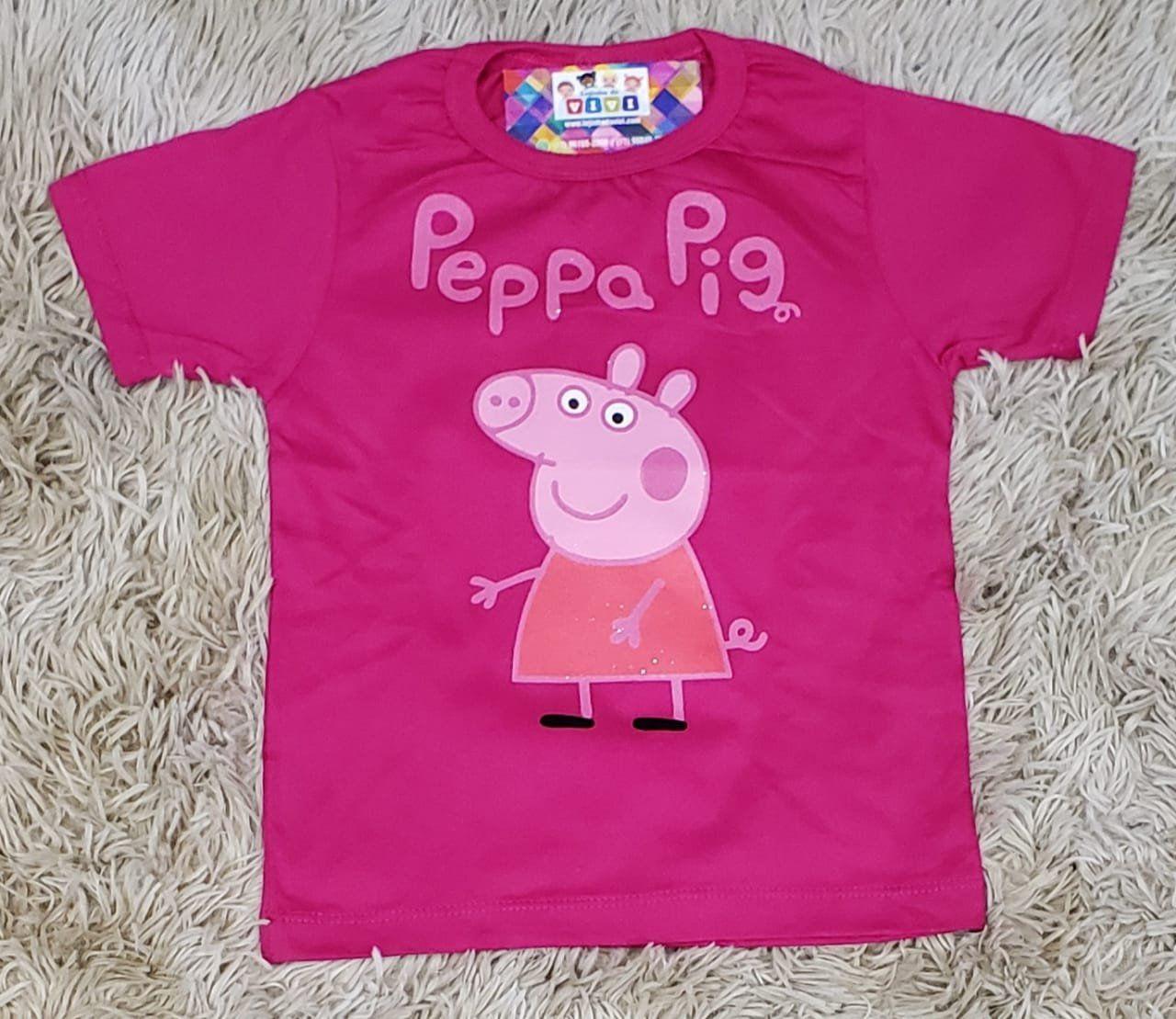 ca18327ae7 Camiseta Peppa Pig Rosa