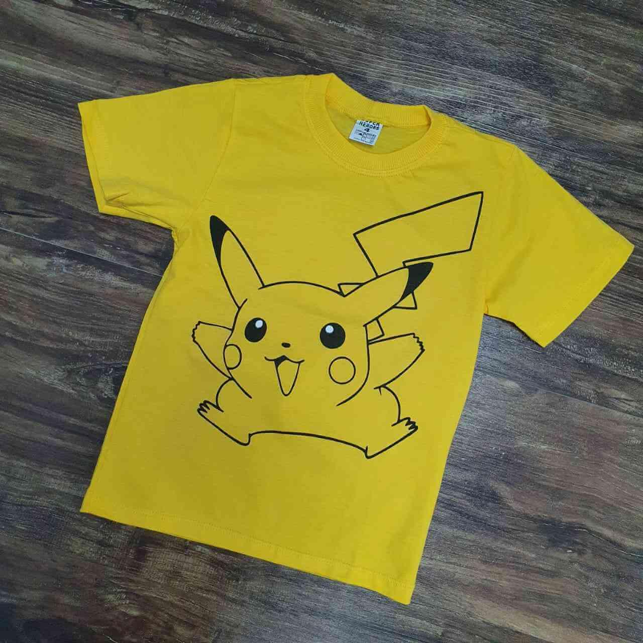 Camiseta Picakachu Infantil