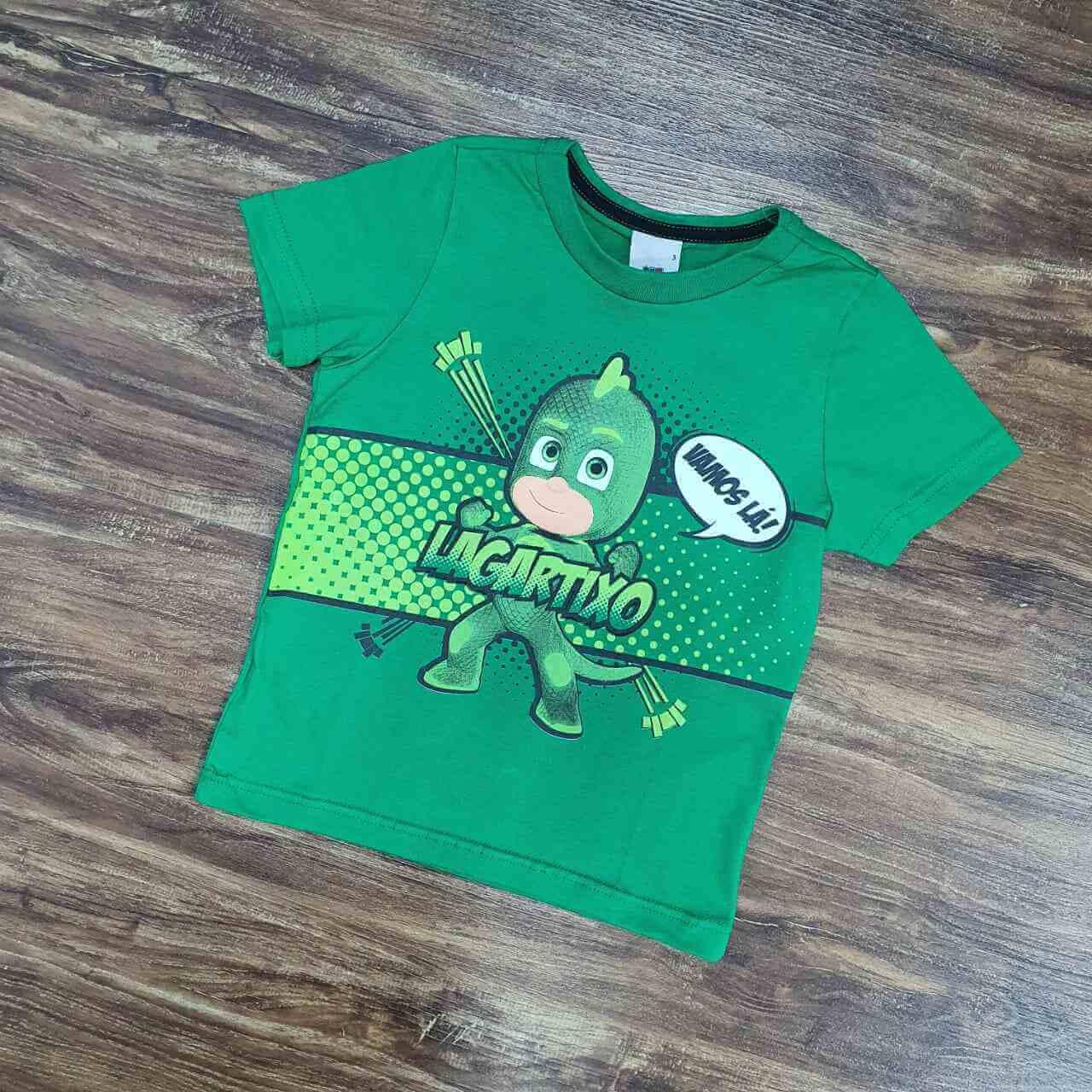 Camiseta PJ Masks Infantil