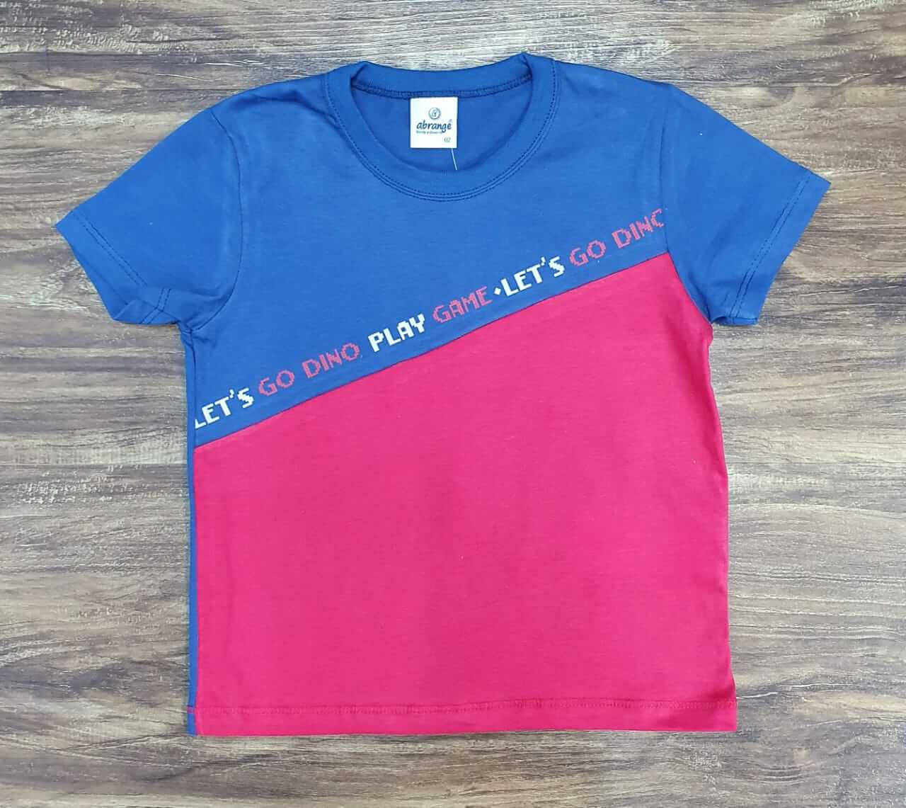 Camiseta Play Game Infantil