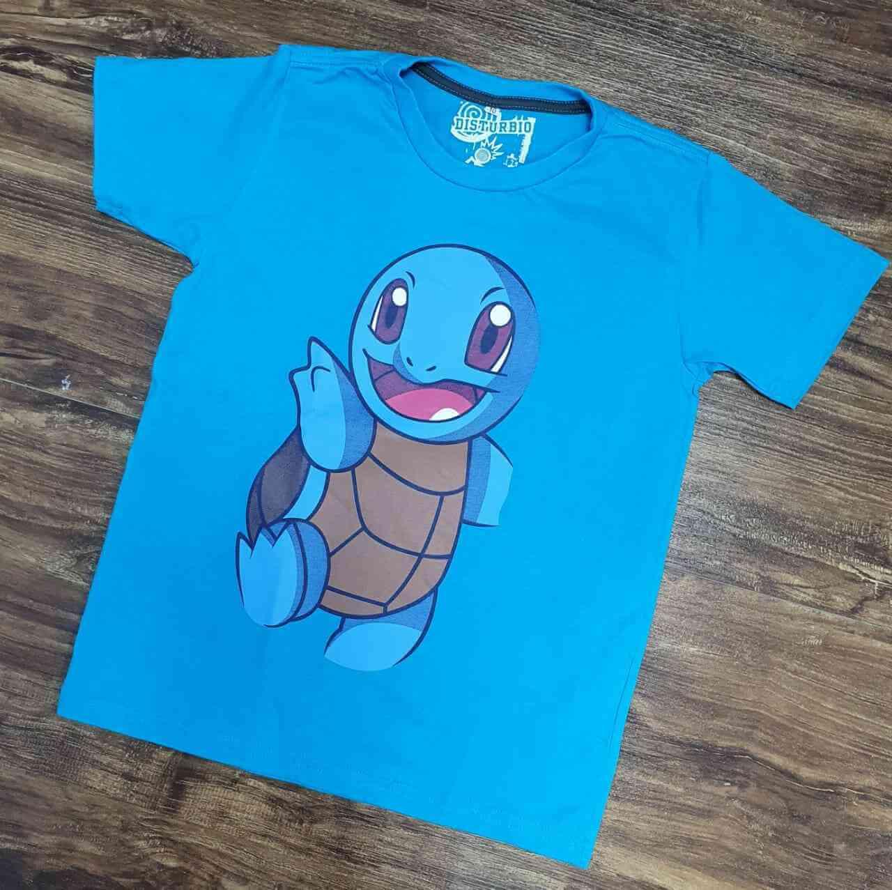 Camiseta Pokemom Squartle Infantil